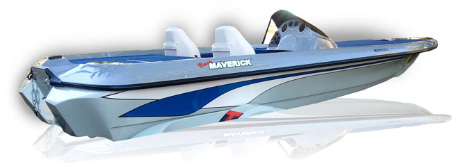 Maverick - bass fishing boat