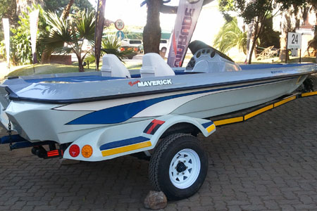 Maverick Bass Boat